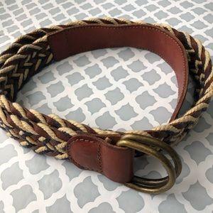 Lucky Brand men woven belt Size 34